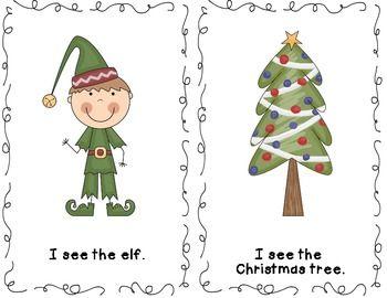 Christmas Emergent Reader - Free