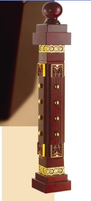 をfreeshipping SJC6004カスタマイズ合金kingpostシリーズ階段アームレストフェンスガードレール手すり合金