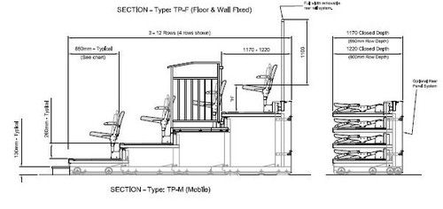 Tiered Classroom Design Standards : Retractable telescopic and bleacher seating systems on