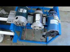 Prueba  de la maquina que produce mas de 450 voltios - YouTube