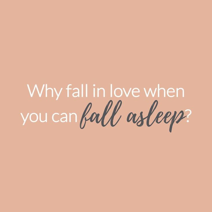 "M.O.T.D Cosmetics | ""Why fall in love when you can fall asleep?"" 