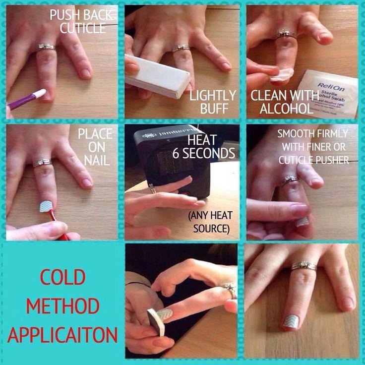 Cold method application of Jams.