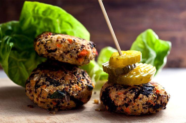 hamburguesas de quinoa y vegetales #foodtomeetyou