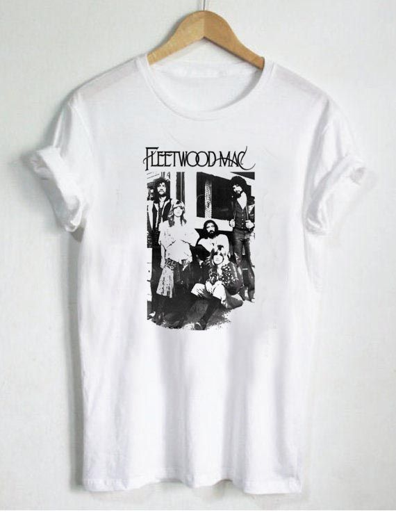 fleetwood mac classic t shirt size s m l xl 2xl 3xl fleetwood mac macs and clothes. Black Bedroom Furniture Sets. Home Design Ideas