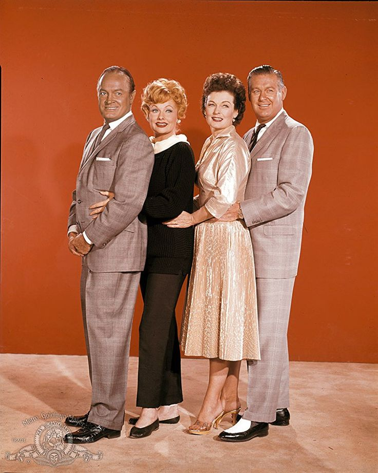 Lucille Ball, Bob Hope, Don DeFore, and Ruth Hussey in The Facts of Life (1960)