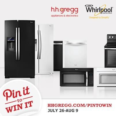 Win a Whirlpool Ice Suite (over $3,500 value) with our #HHGPinToWin Sweepstakes! Repin the image then complete the registration form at hhgre.gg/15ksQNU!