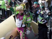 Jason Kelce doesnt hold back in Eagles victory speech