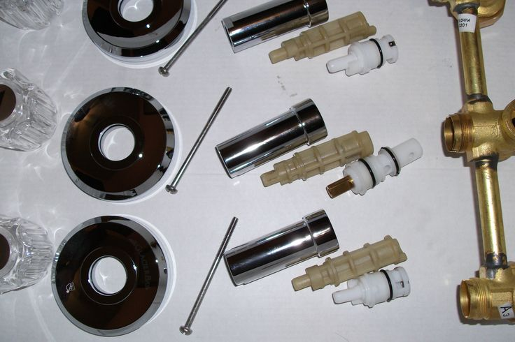 Faucet Instructions Glacier Bay 3 Handle Tub Shower Faucet