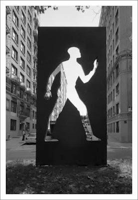 Elizabeth Catlett - Invisible Man - tribute to Ralph Ellison