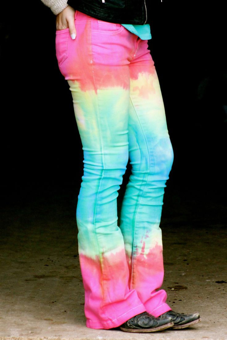 Ranch Dress'n - TIE DYE JEANS BY RANCH DRESS'N, $75.00 (http://ranchdressn.com/tie-dye-jeans-by-ranch-dressn/)