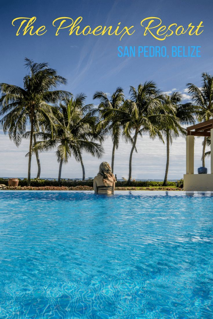 The Phoenix Resort is considered one of the best hotels in San Pedro, #Belize. Here's why you'll want to book into this fantastic, all-suite spot.   #Travel | #Luxury | #CentralAmerica | #Hotel | #Resort
