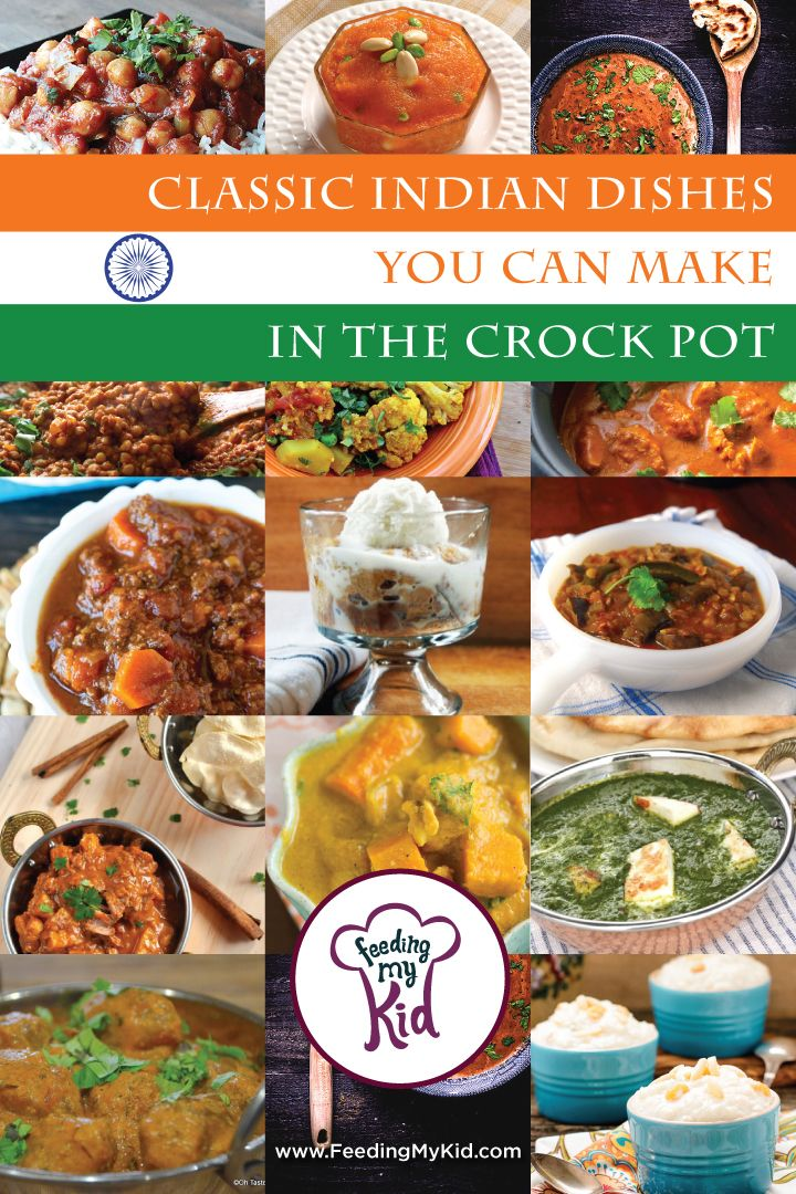 Classic Indian Dishes You Can Make in the Crock Pot. Indian food doesn't have to be a restaurant only cusine! Check out our list of delicious traditional indian restaurant dishes to make for your family at home!