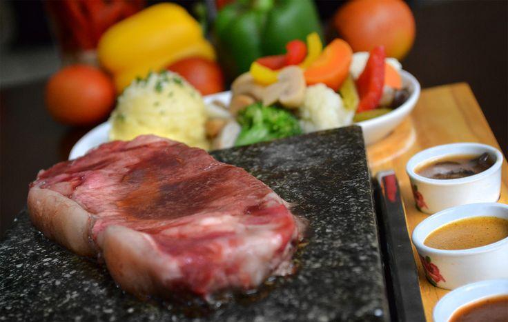 Justin Clara - Hot Stone Steak