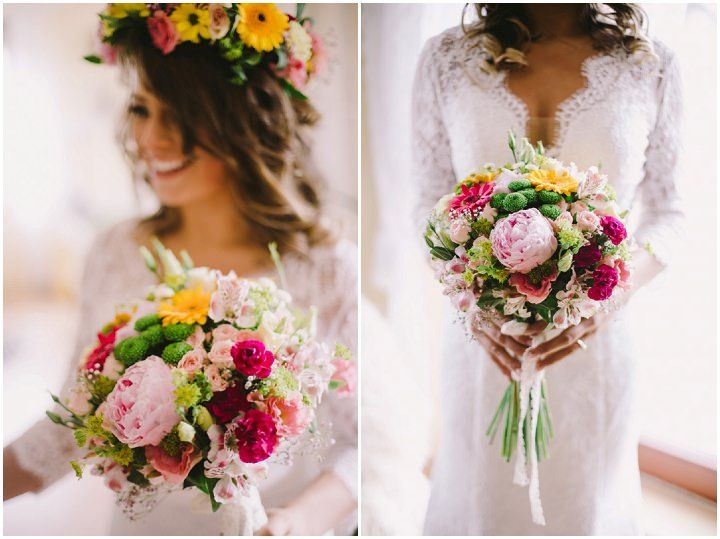 Colourful Polish Wedding With Flower Crowns And Pet Dogs By Pnm Weddings Boho Uk Blog