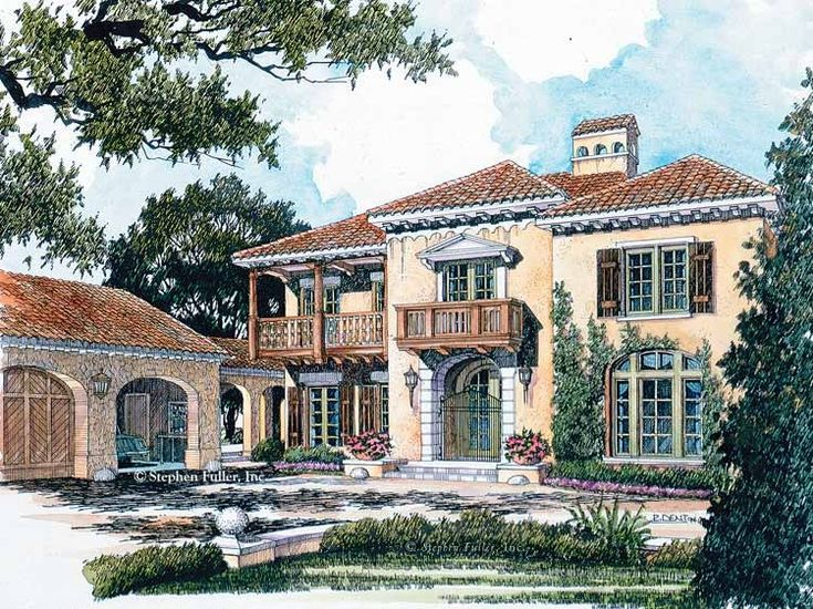 23 best images about dream houses on pinterest house for Eplans mediterranean house plans
