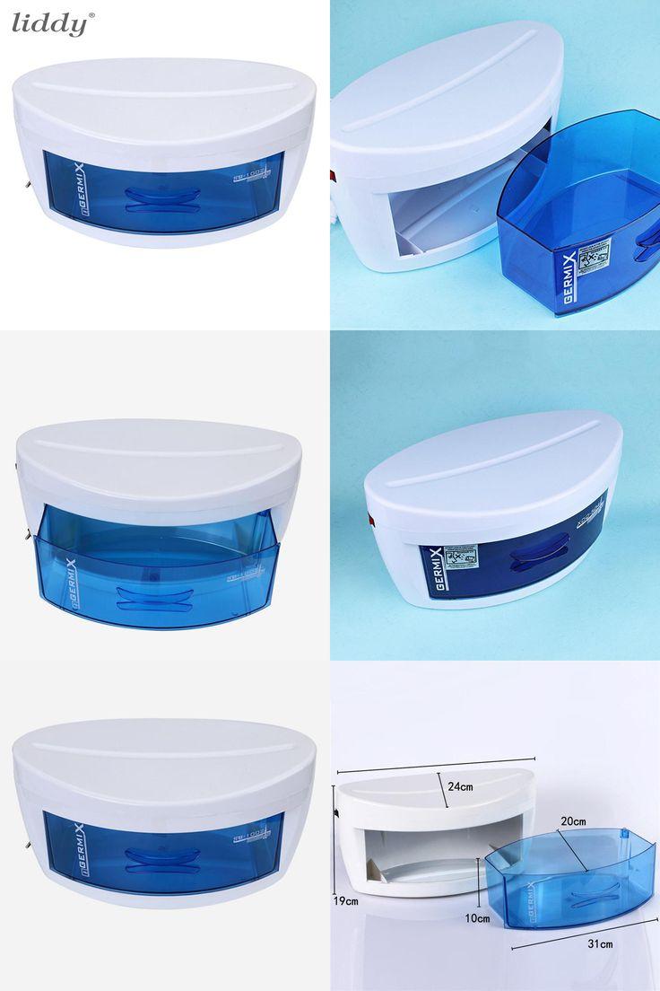 [Visit to Buy] Tools Sterilizer Professional Nail Sterilizer Box Nail Art Salon Portable UV Sterilizing Tool Beauty Esterilizador Manicure  #Advertisement