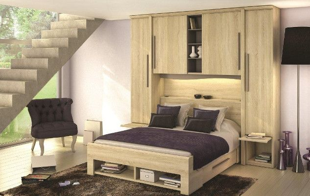 pont de lit pluriel meubles c lio c lio collection. Black Bedroom Furniture Sets. Home Design Ideas