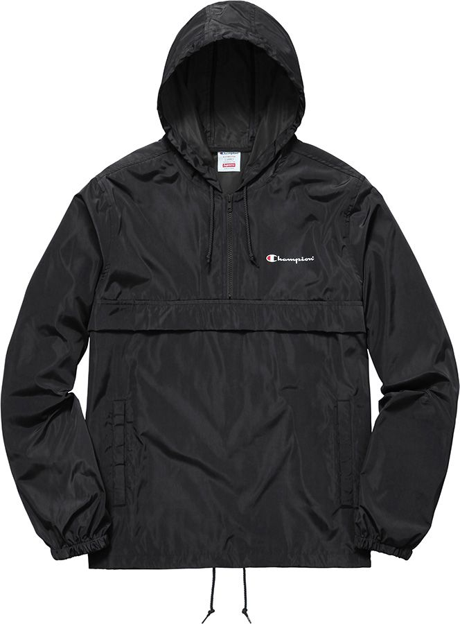 Supreme Supreme®/Champion® Half Zip Windbreaker