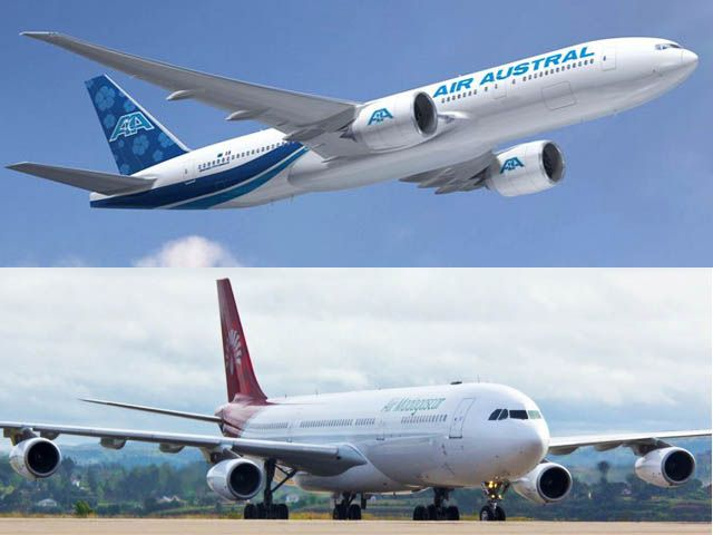 Air Austral vise le capital d'Air Madagascar