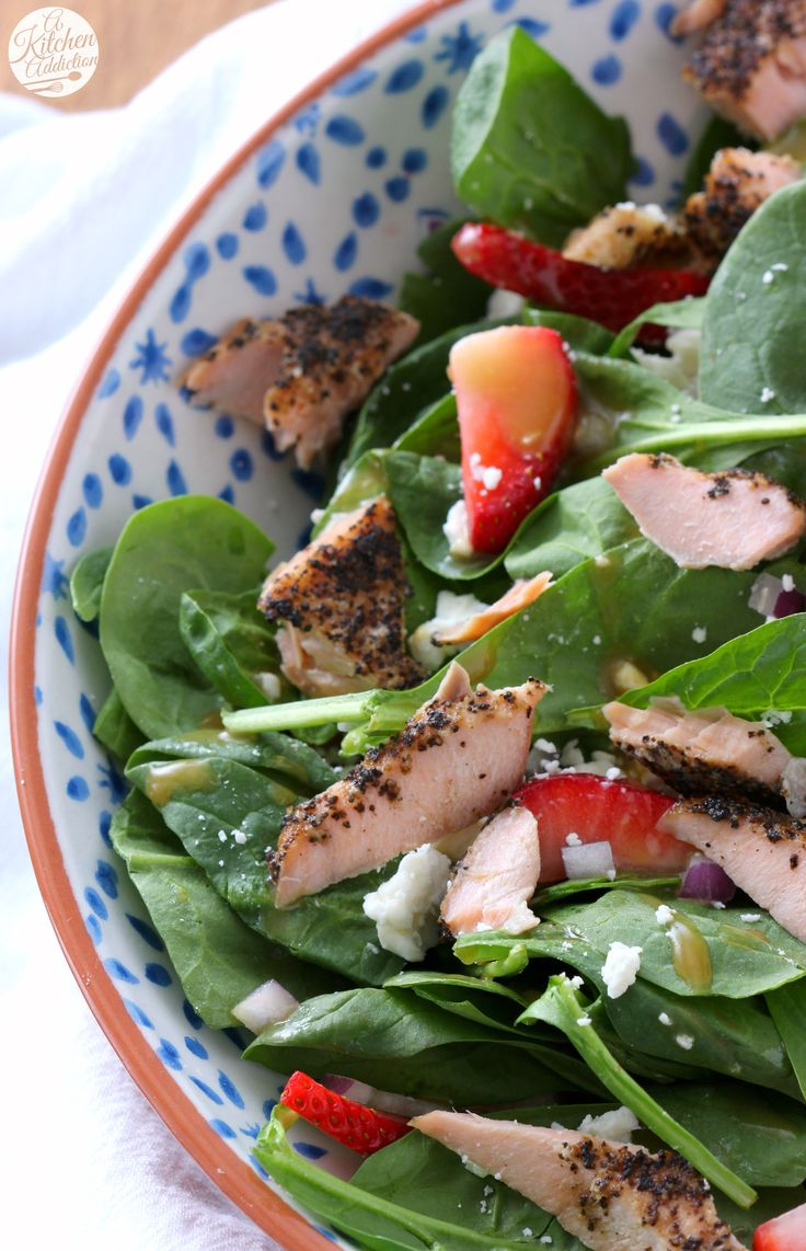 ... Spinach Strawberry Salad on Pinterest | Strawberry Salads, Salad and