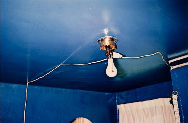 William Eggleston, Untitled (Blue ceiling), 1970-1973                                                                                                                                                                                 More