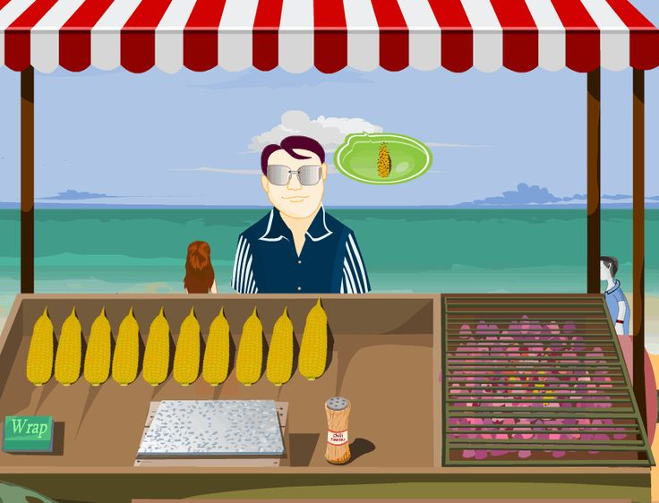 Serve your customers with the best corn – Indian style You are responsible for serving your customers with the best Indian corn. All you have to do is to make sure you serve the target customers as fast as possible. If a customer desires corn, simply pick up the corn, click to place it on …