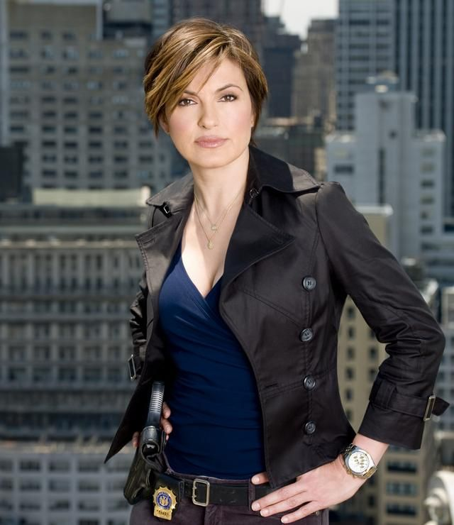 Detective Olivia Benson Mariska Hargitay In Law And