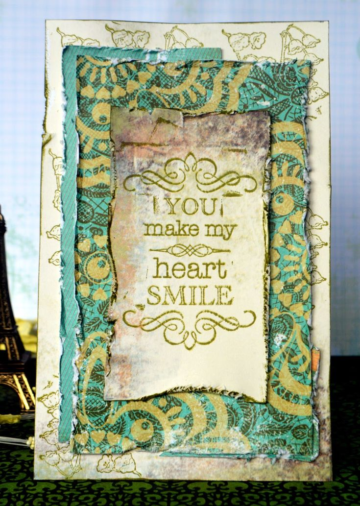 YOU MAKE MY HEART SMILE http://bellaideascrapology.blogspot.com/2014/08/you-make-my-heart-smile.html