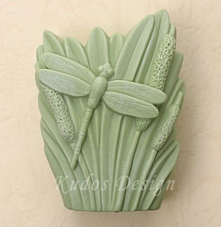 soap mold, silicone soap mold, FL041 Dragon Butterfly $18