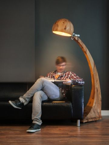 Abadoc Design: Lampa podłogowa Woobia