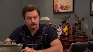 The 15 Best Ron Swanson GIFs