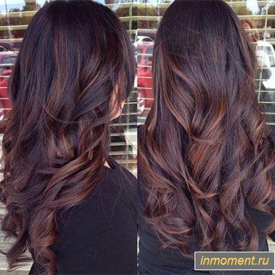 модные цвета волос весна 2017