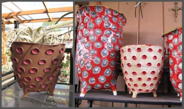 Hand Building Pottery Ideas | There is so much same-old, same-old in the garden world. And then ...
