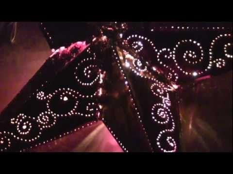 Bastelanleitung für eine Sternen Lampe für wenig Geld - YouTube
