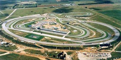 Phakisa Raceway Racing Track outside Welkom