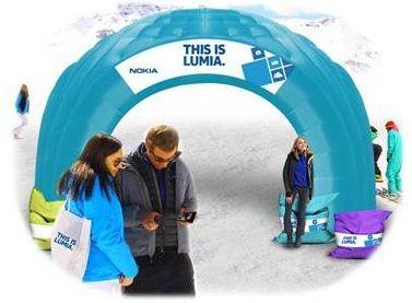 Nokia Winter Season 2013 #nokiaws #nokia #neve @Nokia Italia