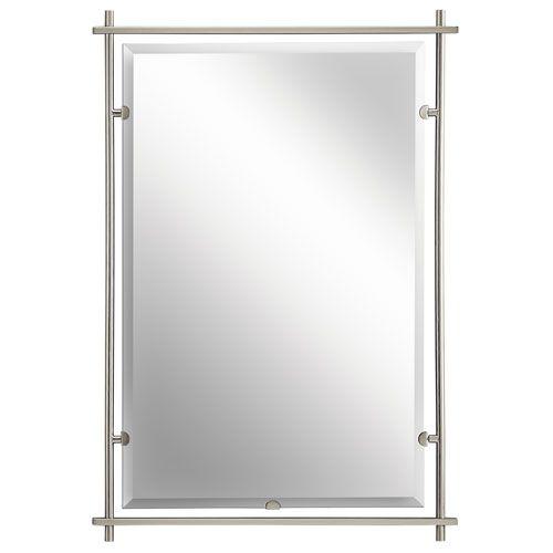 Eileen Brushed Nickel Mirror