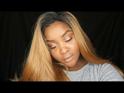 BEYONCE BLONDE SYNTHETIC WIG | FRIDAY NIGHT HAIR GLS41 - YouTube