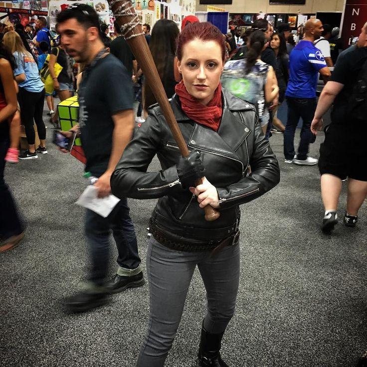 @abbydarkstar #negan #thewalkingdead #cosplay #geek #comiccon #sdcc @comic_con…