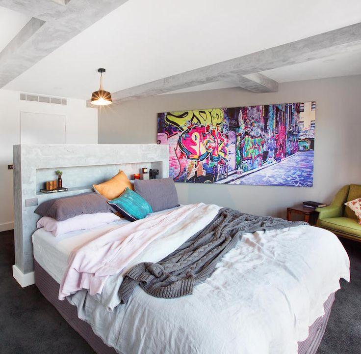 Caro and Kingi Room 3 | Master Bed & WIR #theblock #theblockshop #bedroomstyle