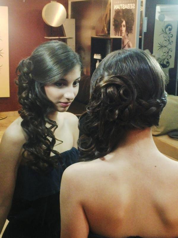 Peinado De Quincea 241 Era Hair Style Pinterest