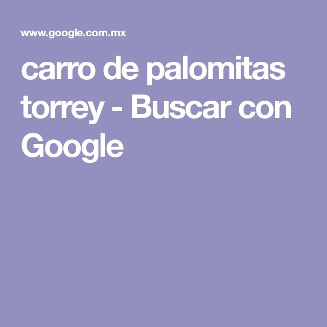 carro de palomitas torrey - Buscar con Google