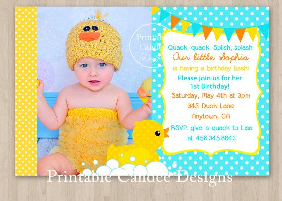Rubber duck birthday invitation diy custom printable on etsy rubber duck birthday invitation diy custom printable on etsy 1000 rubber duck birthday party pinterest rubber duck birthday rubber duck and filmwisefo Image collections