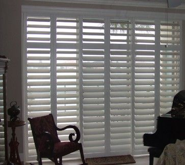 144 best images about windows and doors on pinterest for Alternative to plantation shutters