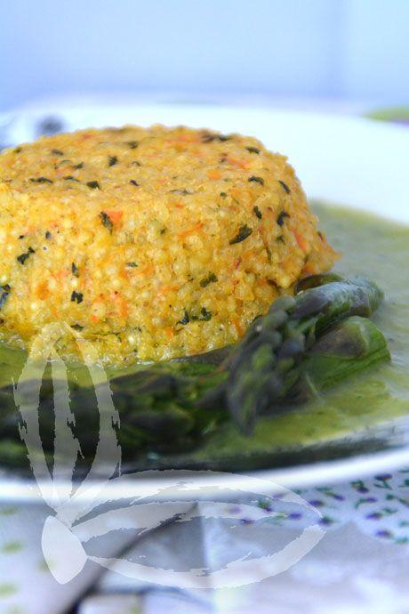 Sformato di miglio aromatico | Veganly.it - Ricette vegane dal web