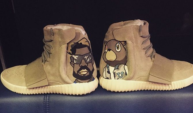 Chris Brown Did the Unthinkable to His adidas Yeezy | Best Thing Alife!!!!!!