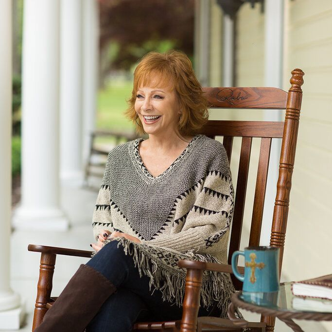 Rockin' R by Reba Chestnut Rocking Chair | Collections | Rockin' R by Reba - Cracker Barrel Old Country Store
