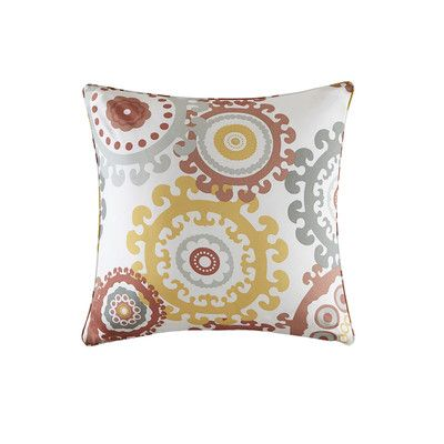 Bungalow Rose Manchester Printed Medallion 3M Scotchgard Outdoor Pillow Size: 2
