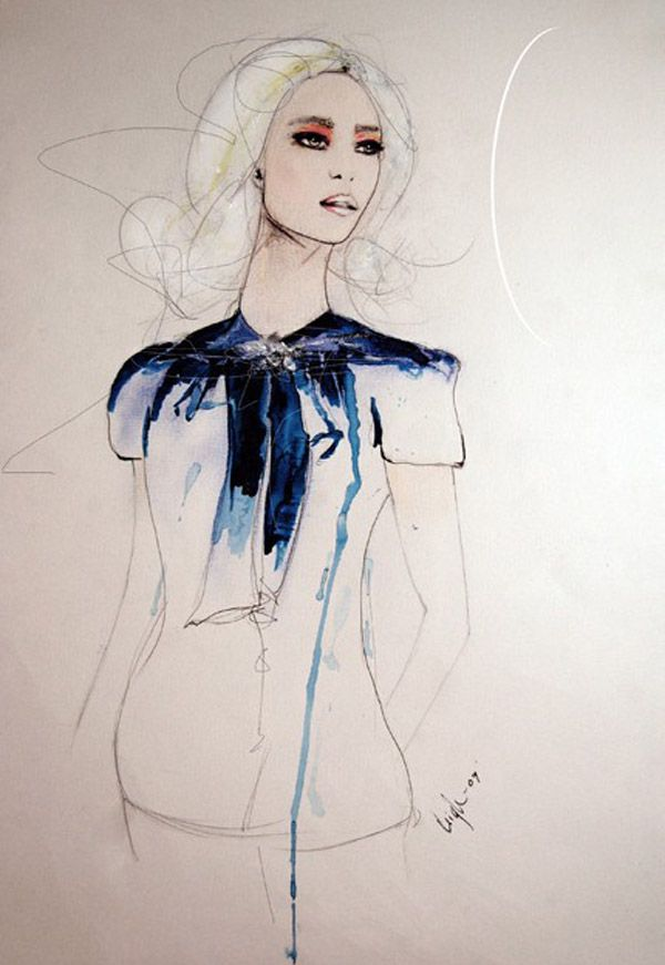 Leigh Viner Fashion Illustrations