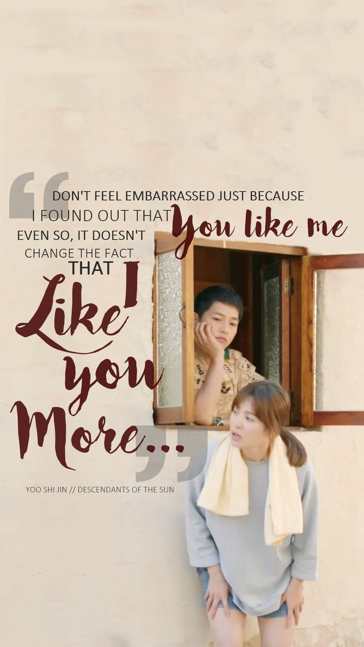 Descendants of the Sun: One of the best TV shows ever.